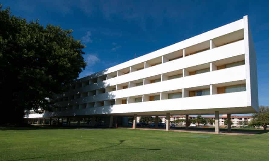 The Brasilia Palace Hotel.