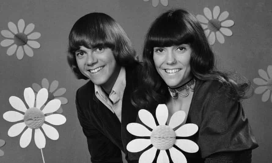'A drummer who sang' and her brother … the Carpenters.