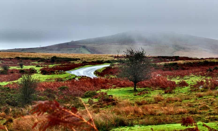 Gloomy and dramatic Dartmoor