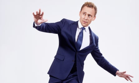 All the right moves: Tom Hiddleston demonstrates his dance steps.