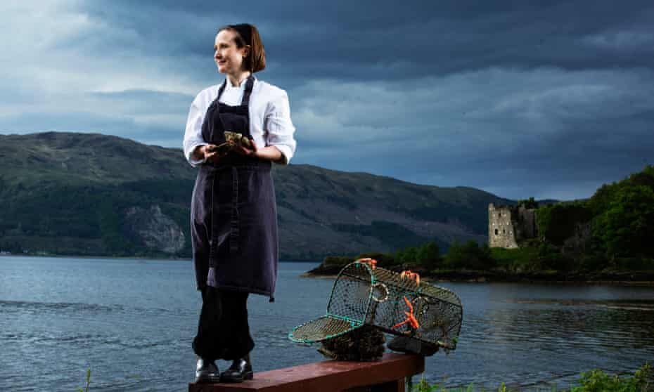Pam Brunton, near restaurant Inver on the shores of Loch Fyne.