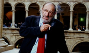 Umberto Eco in 2002 at Bologna University, where he taught for many years at professor of semiotics.
