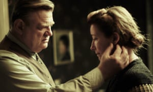 Strong performances … Brendan Gleeson and Emma Thompson.