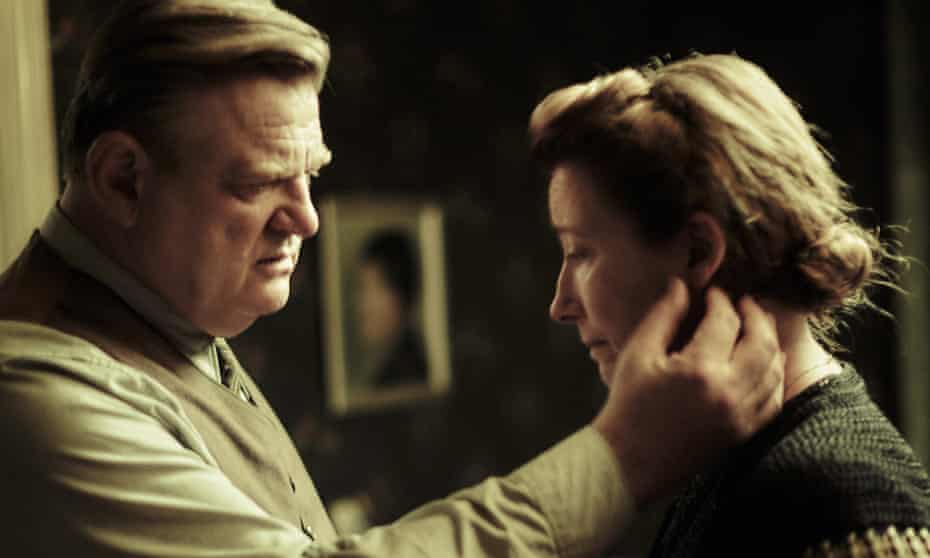 Brendan Gleeson and Emma Thompson in the film adaptation of Alone in Berlin.