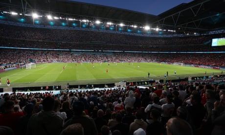 England face Uefa censure after laser pointer shone at Kasper Schmeichel