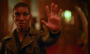 Michaela Coel in Black Earth Rising.