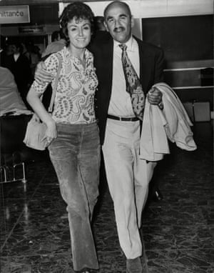 Mitchell with Connie in 1970