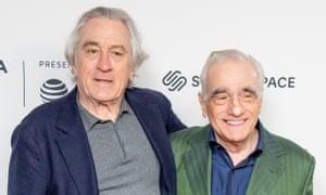 Robert De Niro and Martin Scorsese together at April's Tribeca film festival.