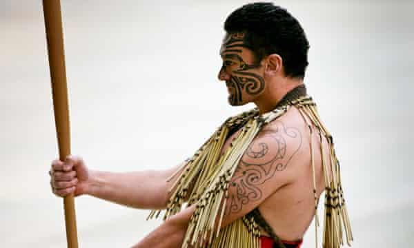 Maori warrior.