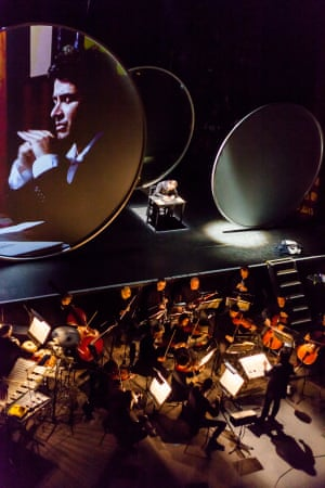The Book of Disquiet, with Samuel West and the London Sinfonia conducted by Joana Carneiro.