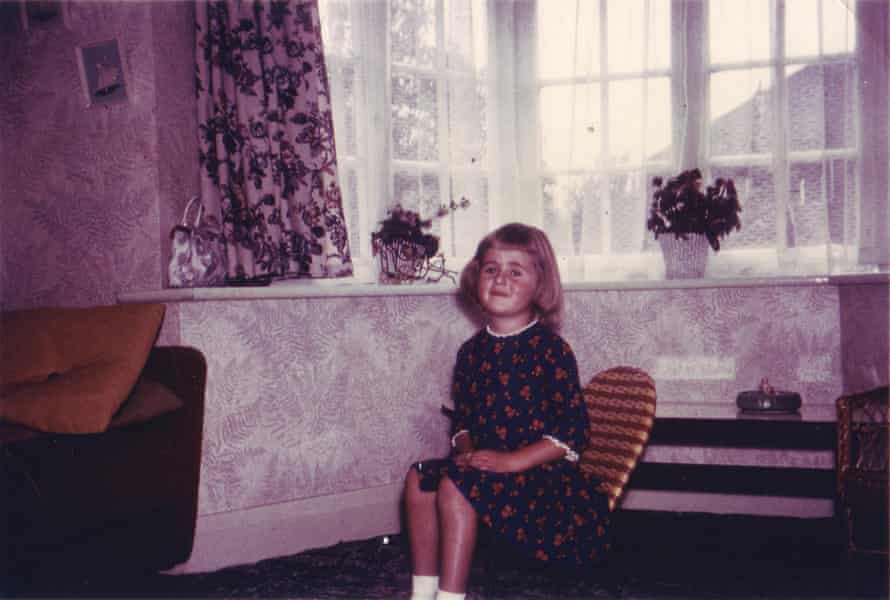 Tracey Thorn as a child.
