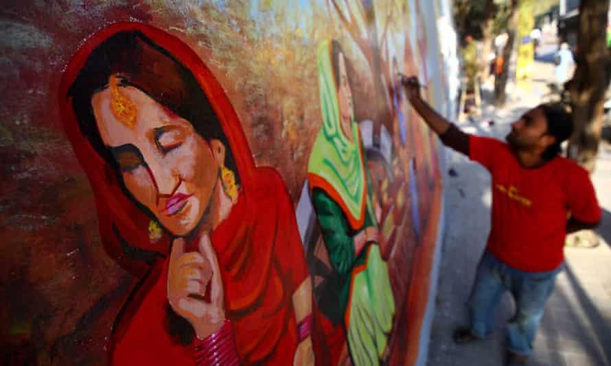 graffiiti in Karachi.