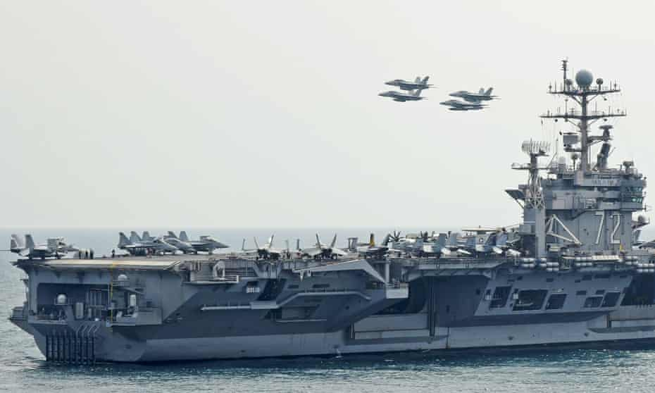 The USS Abraham Lincoln in 2012