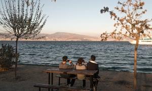 Teenagers in Izmir, western Turkey.