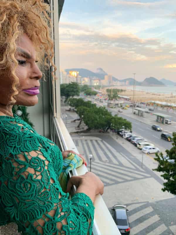 Elza Soares at home in Rio.