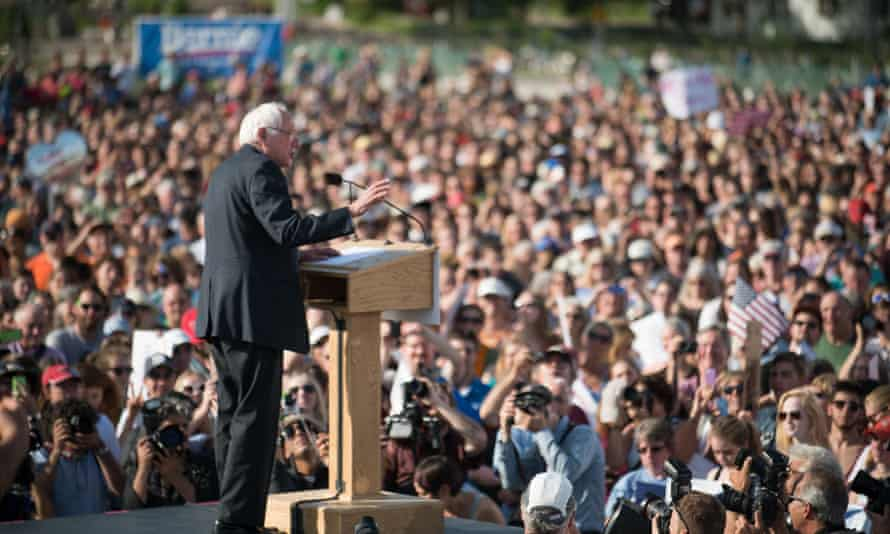 Early polling suggests Bernie Sanders has lost some grassroots support.