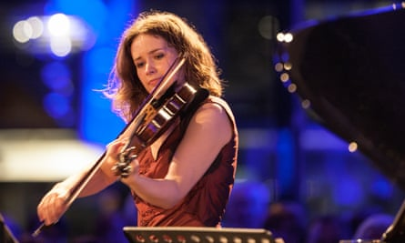 Violinist Patricia Kopatchinskaja.