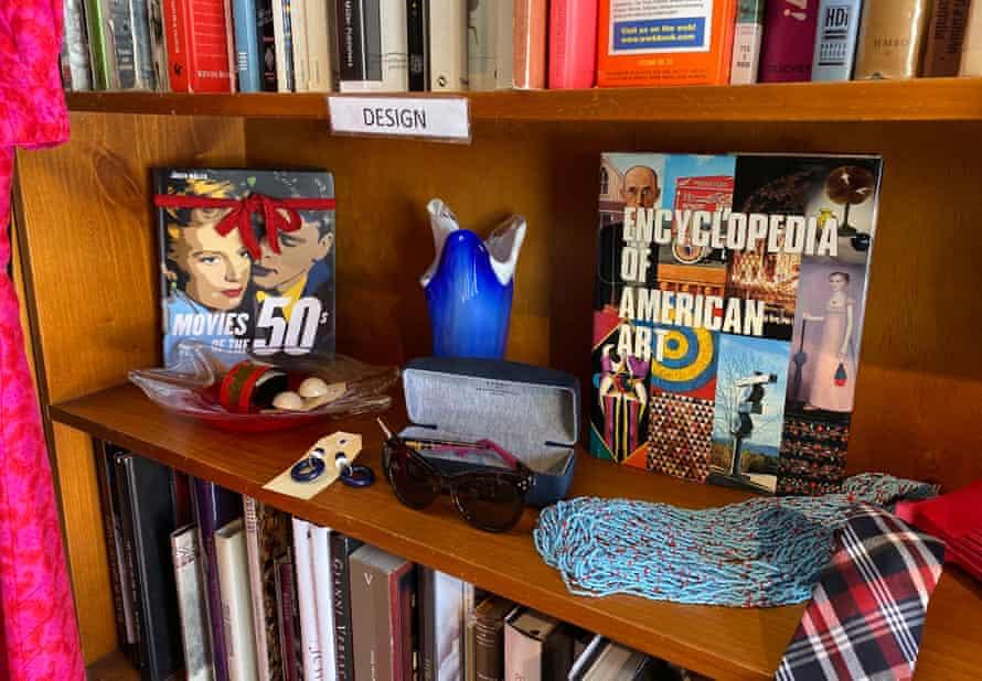 A bookshelf at Grand Days.