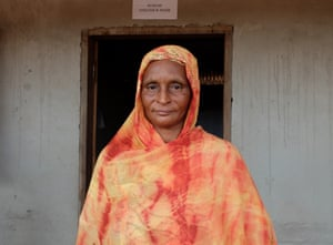 Bouba Rabiatou, president of the women's committee at Mbilé refugee camp