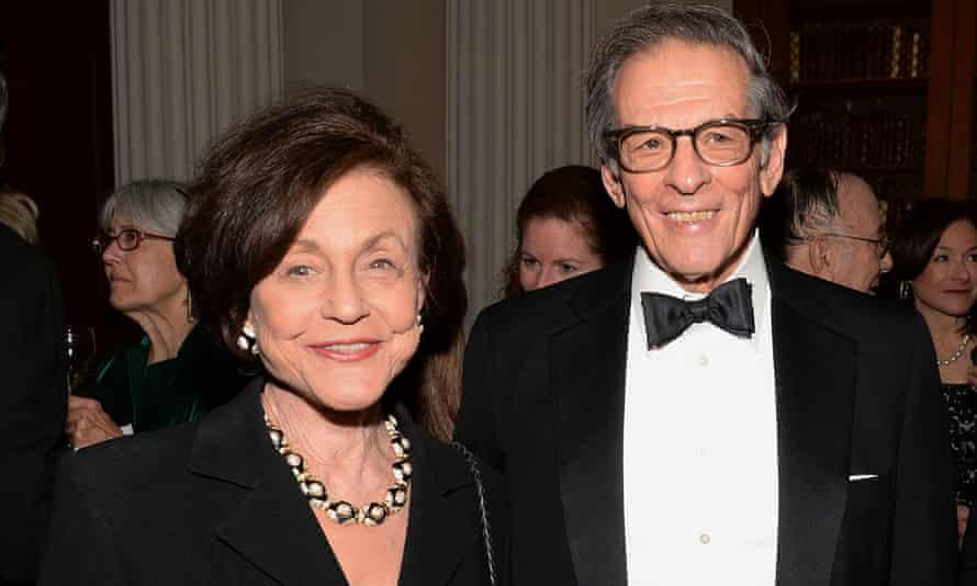 Robert Caro and his wife Ina