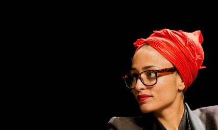 Zadie Smith during a reading in Cologne, in 2014.