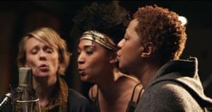 Jo Lawry, Judith Hill and Lisa Fischer from 2013 documentary Twenty Feet From Stardom