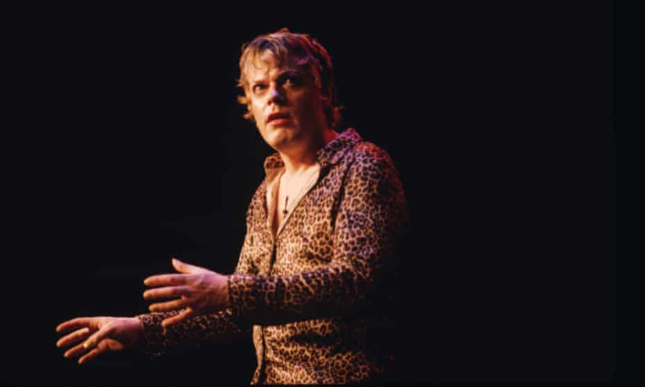 'There was 23 years of twiddling my thumbs' … Izzard performing in 1996.