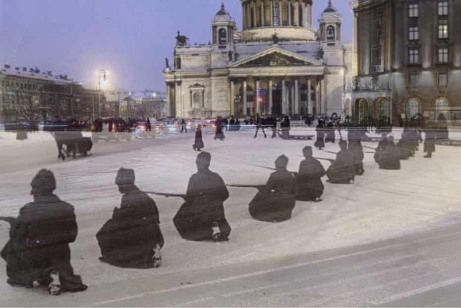 St Isaac's Square 1917 and 2017