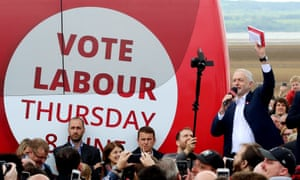 Jeremy Corbyn campaigning in the Wirral, May 2017