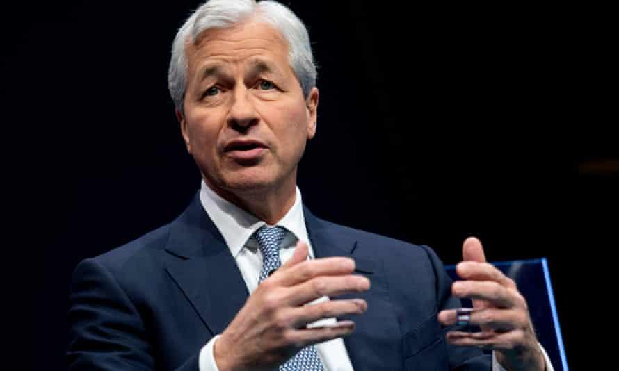 JP Morgan CEO Jamie Dimon