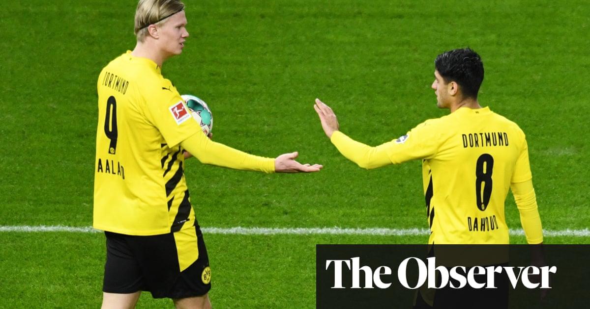 European roundup: Haaland scores four in second half to lift Borussia Dortmund