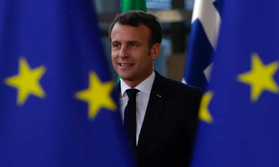 Emmanuel Macron wants to get Brexit out of the way and concentrate on his own mission to overhaul the eurozone.