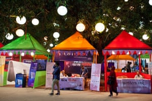 The 2015 Dhaka literary festival.
