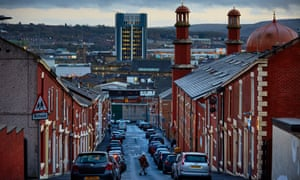 Blackburn, Lancashire, is among cities in the UK where productivity is below the national average.