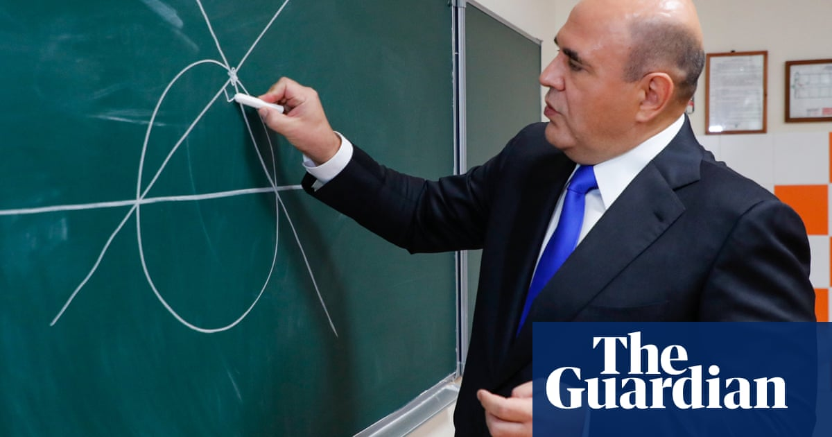 Can you solve it? Russia's Prime Minister sets a geometry puzzle