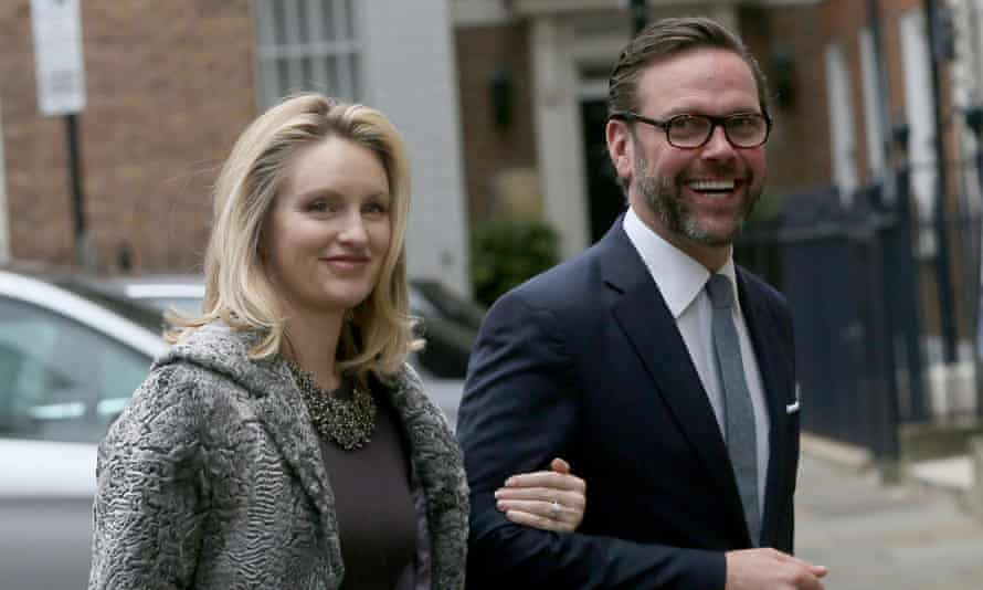 james murdoch and his wife kathryn