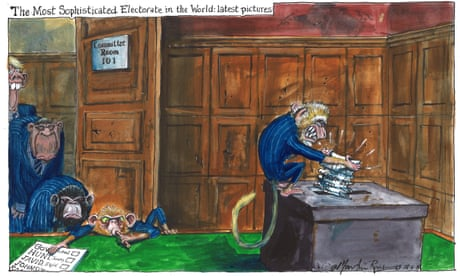 Martin Rowson on Tory MPs voting for a new leader – cartoon
