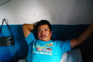Víctor Vásquez was shot in the leg by police while shooting video of an eviction in a local village in January 2017
