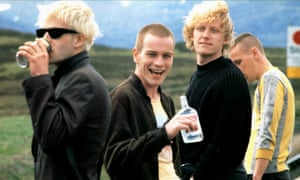 A scene from Trainspotting, 1996.