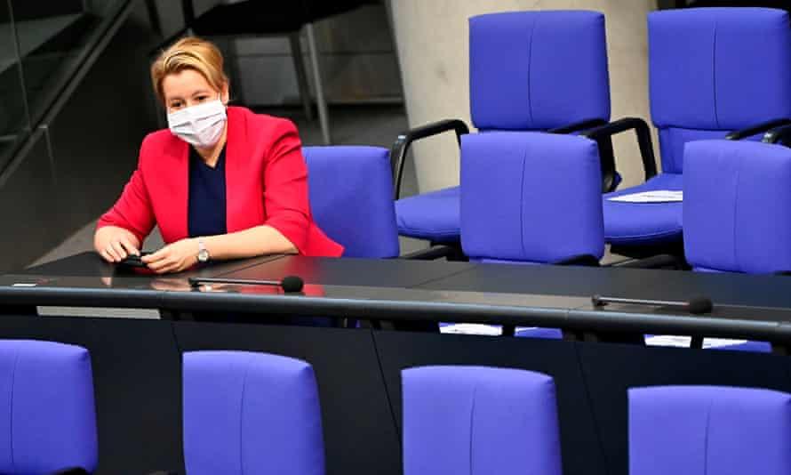 German minister for women, Franziska Giffey