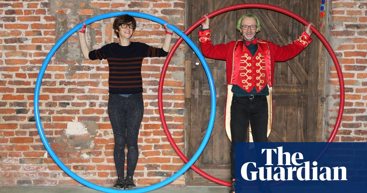 Emma Beddington tries … the Cyr wheel: 'I'm about as supple as an ironing board'