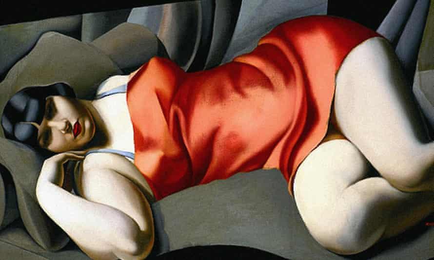 Tamara de Lempicka's Woman in Red