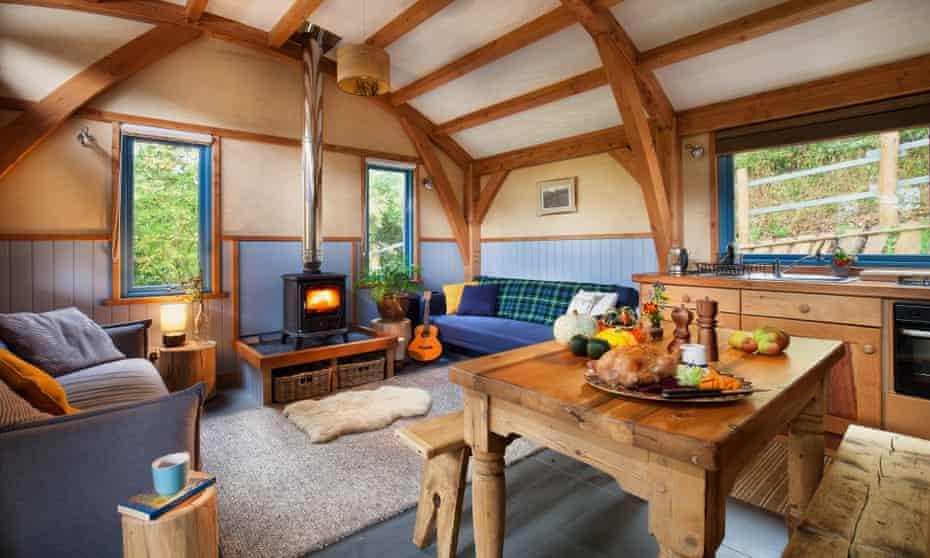 Carpenter Cabin interior