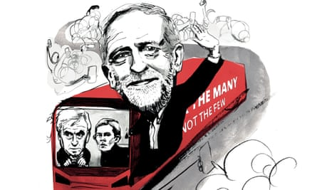 Corbyn labour election long read illustration by Ellie Foreman Peck