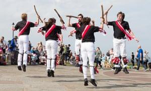 Fool's gambit Morris Dancers at the Whitby Folk Week