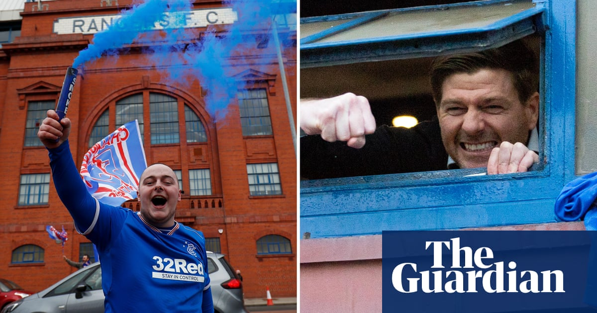 Steven Gerrard had to embrace the pressure to turn Rangers around