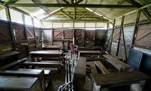 An abandoned school in anglophone Cameroon.