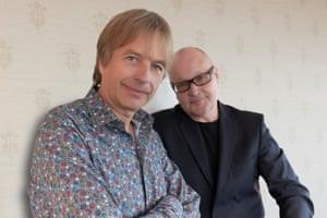 pianist Jan Lundgren, left, and trombonist Nils Landgren.