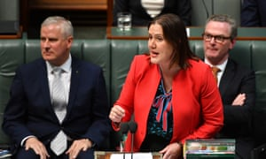 Industrial relations minister Kelly O'Dwyer