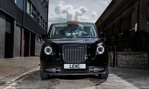 the new electric London black cab